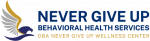 Never Give Up Behavioral Health Services Logo